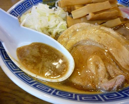 『本家 大黒屋本舗 平井店』 中華そば(昼の部・スープ)