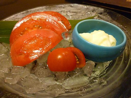 『尾張名古屋の台所 山 本店』 トマト