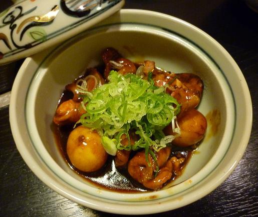 『尾張名古屋の台所 山 本店』 三河鶏 伍もつ煮