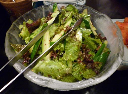『(某焼肉店)』 野菜サラダ(6)