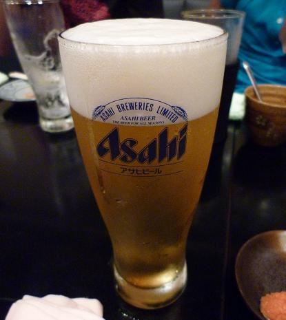 『(某焼肉店)』 生ビール(2)