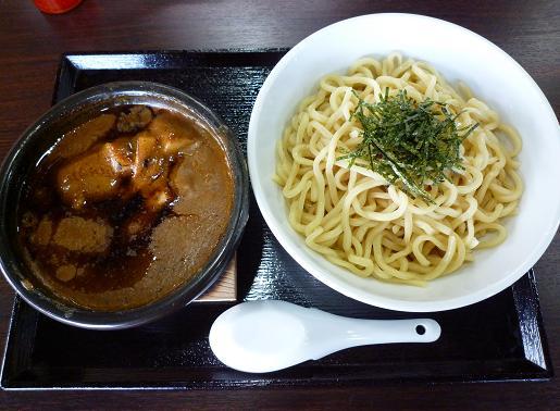 『つけ麺 らいこう』 かいこくカレーつけ麺(750円)