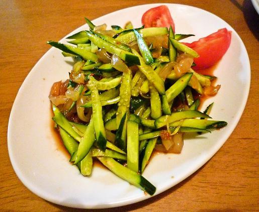『中華料理 龍鳳軒』 中華クラゲ