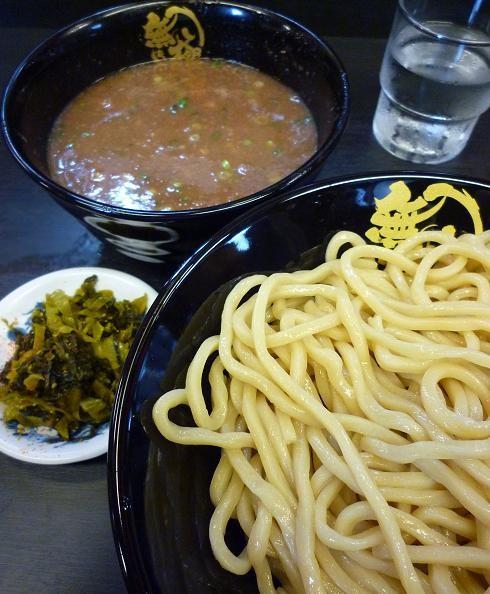 『つけ麺専門店 無極』 豚骨つけ麺(アップ)