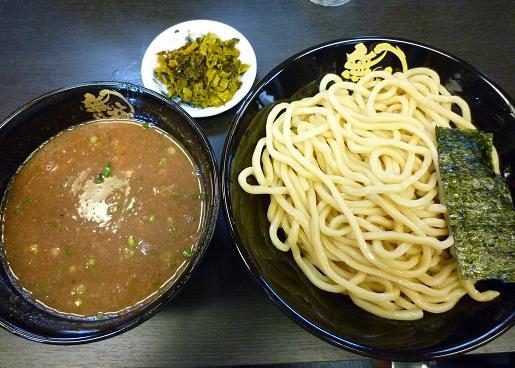 『つけ麺専門店 無極』 豚骨つけ麺(800円)
