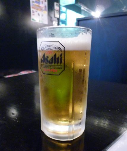 『福の上』 生ビール(430円)