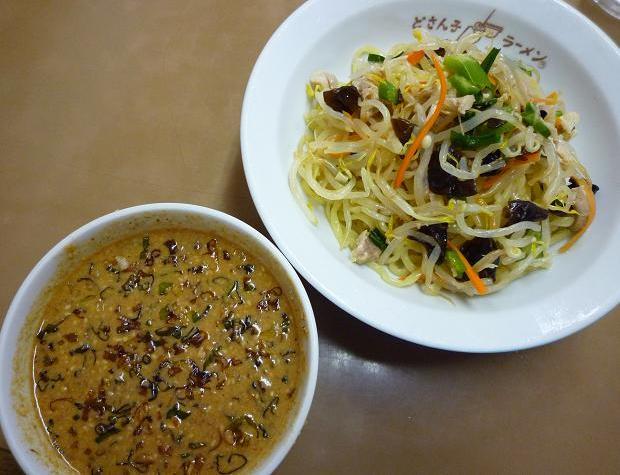 『どさん子ラーメン 亀有南口店』 冷やしのっけ盛り麺(2010年8月限定・700円)