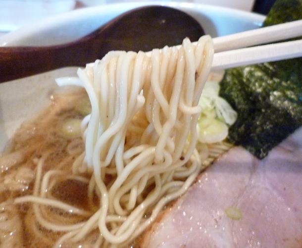 『中華蕎麦 蘭鋳』 中華そば(麺リフト)