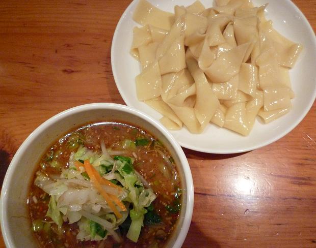 『中華そば すずらん』 清浄麺(つけそば・味噌・平打麺・並盛) 950円
