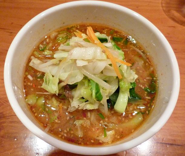 『中華そば すずらん』 清浄麺(つけそば・味噌) つけ汁アップ