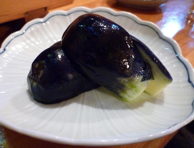 『くいしん坊 古町店』 十全ナス漬け(390円)