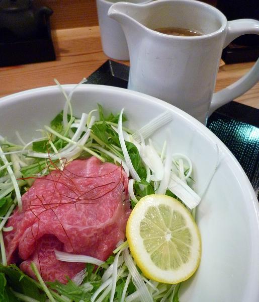 『松阪牛麺 大龍軒』 松阪牛麺(アップ)