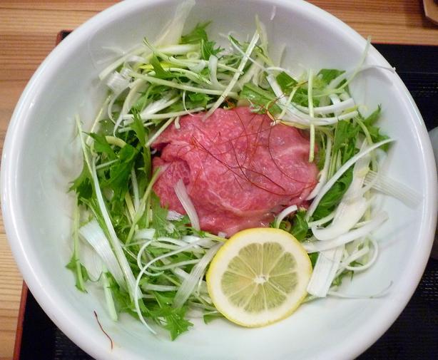 『松阪牛麺 大龍軒』 松阪牛麺(麺)