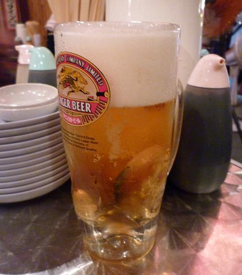 『地魚屋台 とっつぁん』 生ビール
