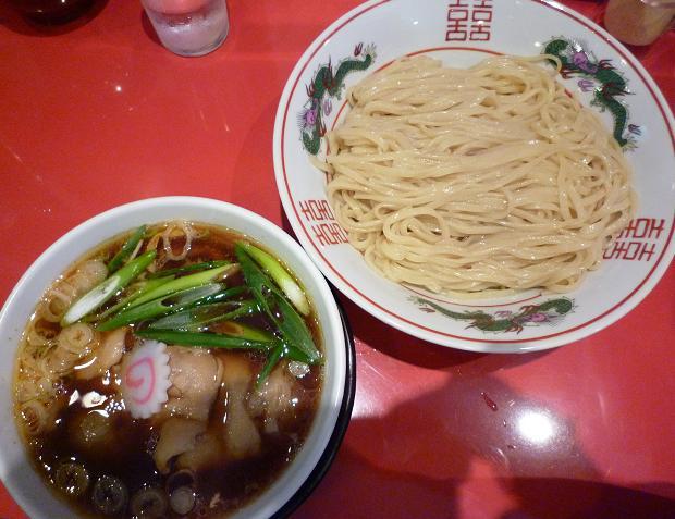 『カドヤ食堂』 つけそば+豚足トッピング(1330円)