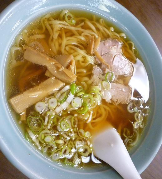『喜ぐち』 ラーメン(530円)