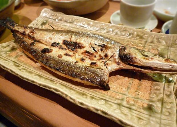 9『居酒屋 やまちゃん』 江戸前のカマス塩焼き