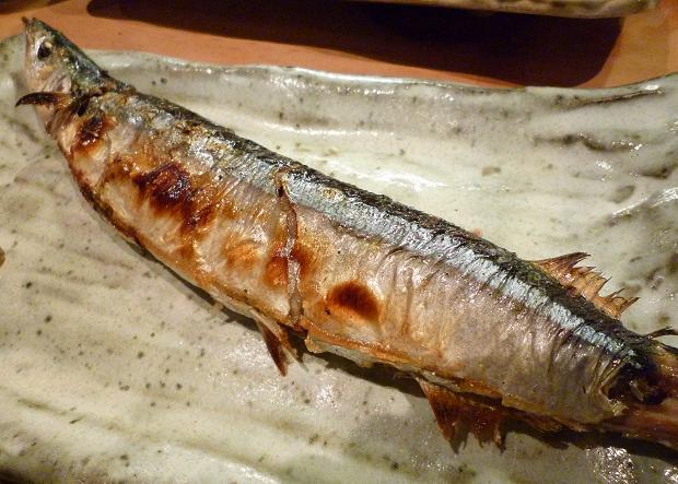 11『居酒屋 やまちゃん』 北海道根室・カネヒロの秋刀魚塩焼き
