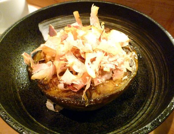 10『居酒屋 やまちゃん』 京都産加茂茄子のしぎ焼き