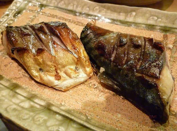 13『居酒屋 やまちゃん』 神奈川県松輪の鯖塩焼き