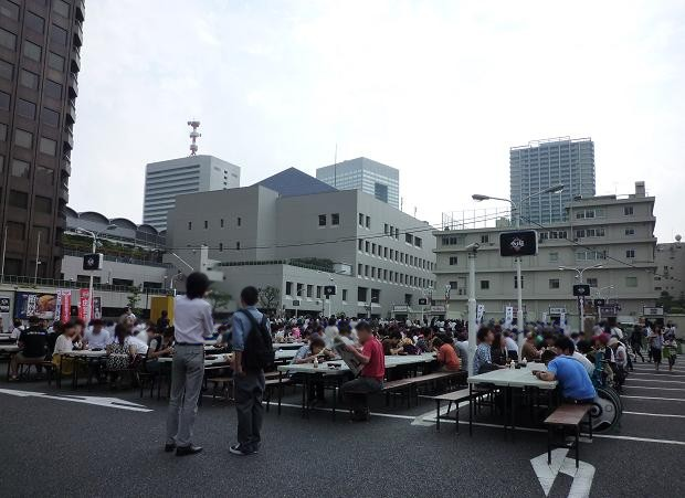 「大つけ麺博@浜松町」 客席エリア(20100920)