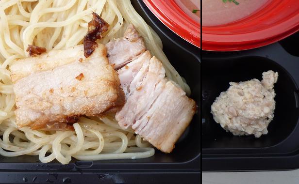 『THE ORIGIN HAJIME!@大つけ麺博』 塩つけ麺・大つけ麺博バージョン(具材アップ)