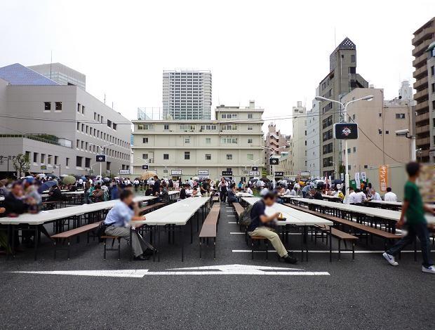 「大つけ麺博@浜松町(2010秋)」 客席