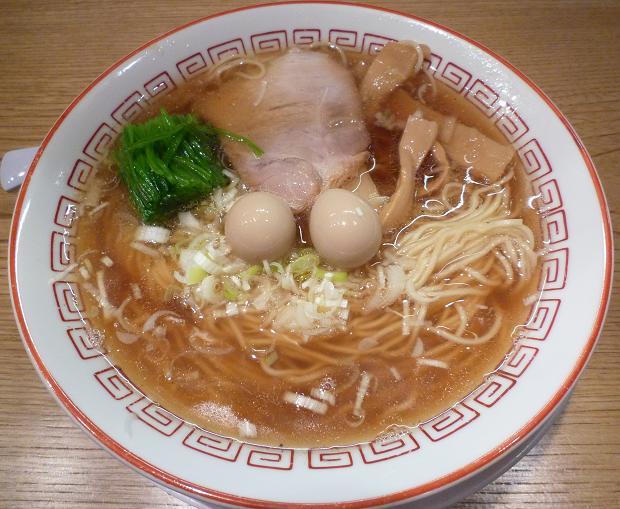 『江戸前つけ麺 サスケ』 江戸前中華そば(680円)