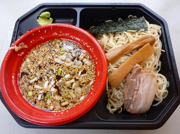 『西尾中華そば@大つけ麺博 in 浜松町』 特上魚介ダシと鶏のつけ麺(女子盛り・700円)