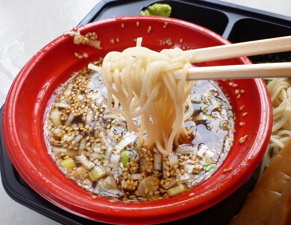 『西尾中華そば@大つけ麺博 in 浜松町』 特上魚介ダシと鶏のつけ麺(女子盛り・麺リフト)