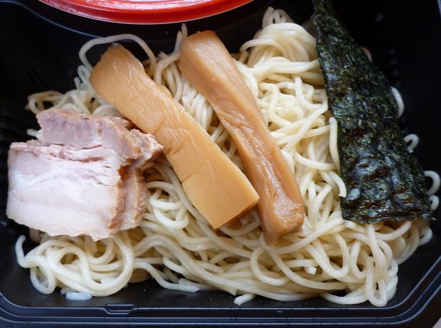 『西尾中華そば@大つけ麺博 in 浜松町』 特上魚介ダシと鶏のつけ麺(女子盛り・麺アップ)