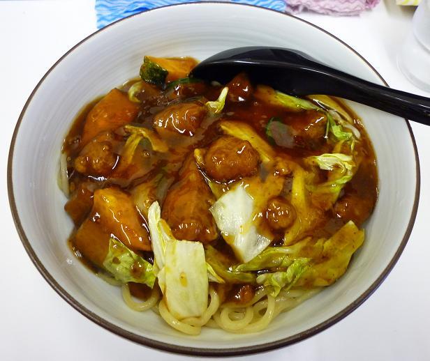 『神田スタミナラーメン』 スタミナラーメン(汁なし・並盛)750円