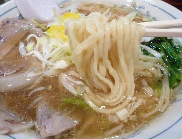 『中華そば 清水』 中華そば(麺リフト)