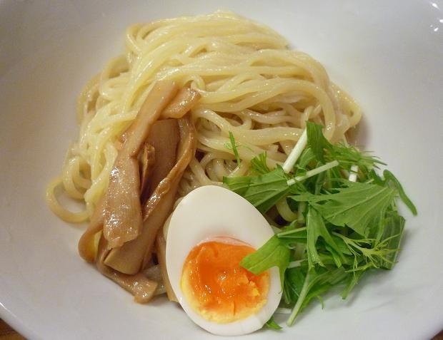 『麺食堂X』 醤油つけ麺(麺アップ)