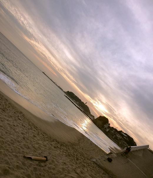七里ガ浜(2010年10月)