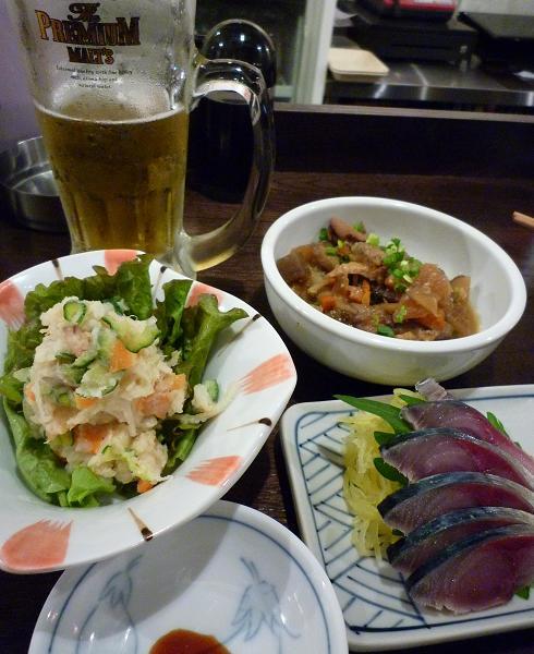 『金町製麺』 沙樹ちゃんのポテトサラダ(200円)他 (※2010年10月下旬撮影)