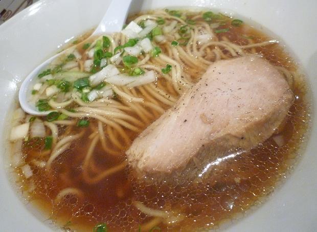 『金町製麺』 〆のらーめん(限定15食) 480円 (※2010年10月下旬撮影)