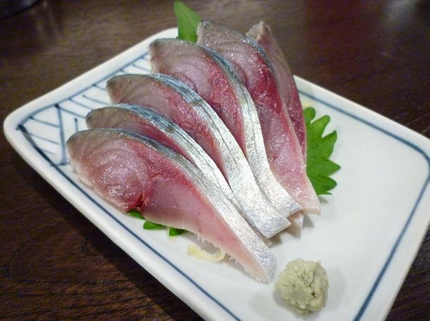 『金町製麺』 秋しめさば 300円 (※2010年10月下旬撮影)