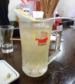 『金町製麺』 王様のレモントリハイ 450円 (※2010年10月下旬撮影)
