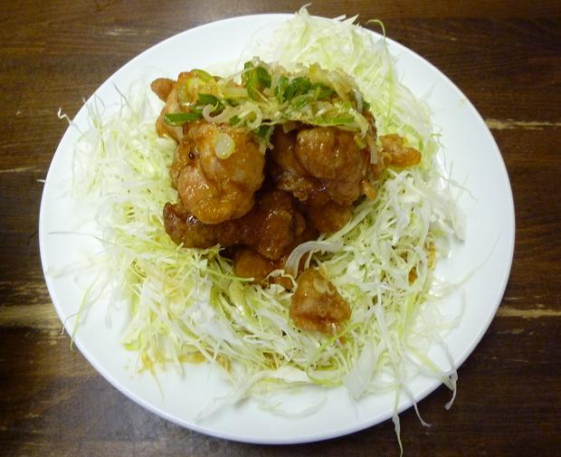 『ラーメン東横 笹口店』 油淋鶏(6ピース・510円)