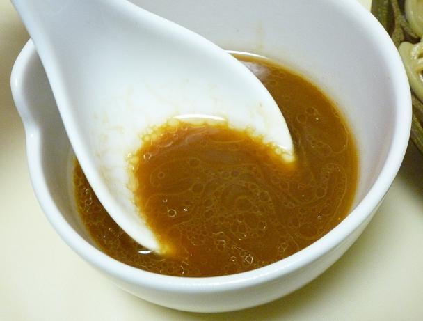「あつもり専用つけ麺(期間限定)」(セブンイレブン・冷凍食品) つけ汁