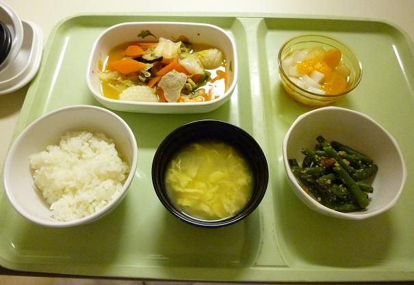 2010年10月28日(木)夕食