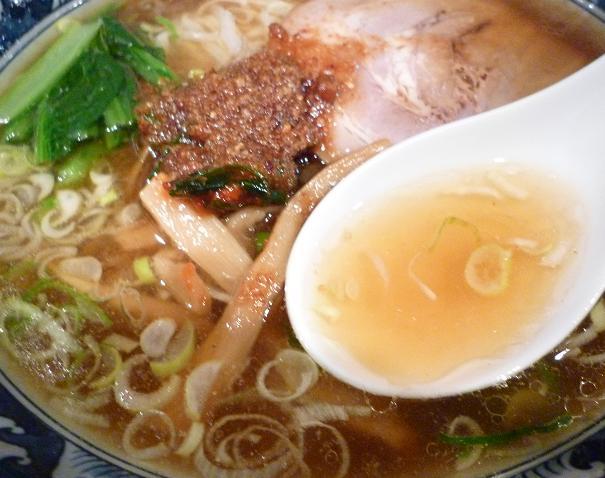 『麺・粥 けんけん』 けんけん香麺(スープ)