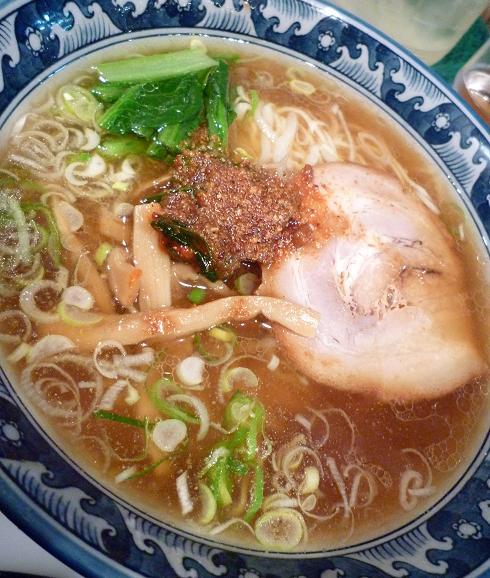 『麺・粥 けんけん』 けんけん香麺(アップ)