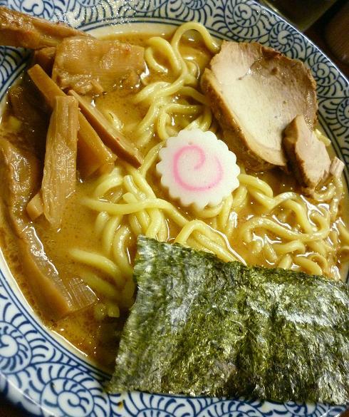 『らぁ麺つけ麺 ふえ木』 濃厚らぁめん(アップ)