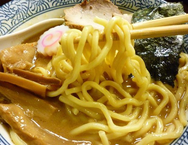 『らぁ麺つけ麺 ふえ木』 濃厚らぁめん(麺リフト)