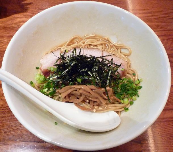 『CHABUYA Zutto Branch』 特 牡蠣あぶらそば正油 かつお風味(850円)
