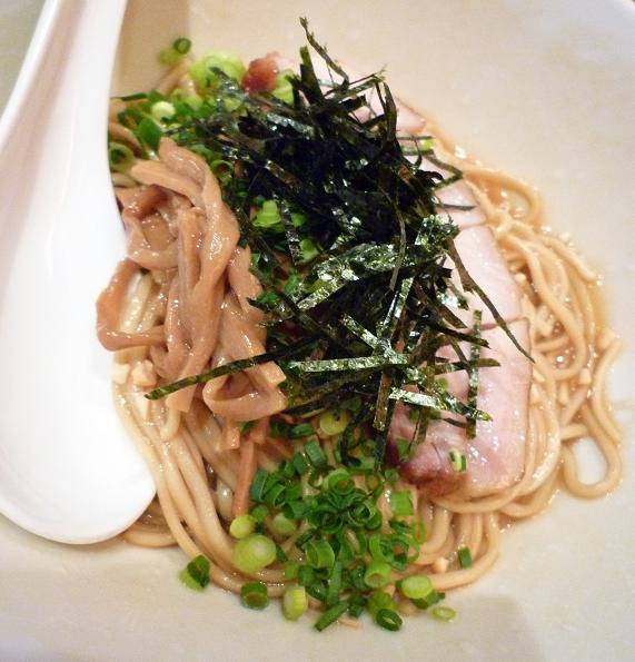 『CHABUYA Zutto Branch』 特 牡蠣あぶらそば正油 かつお風味(アップ)