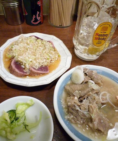 『もつ煮込み専門店 沼田』 角ハイとモツ料理いろいろ
