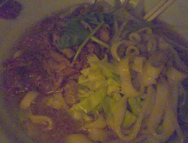 『謎麺』 トッピング(2011年1月21日撮影)